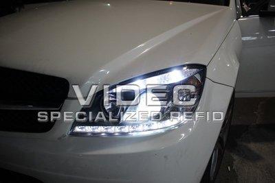 威德汽車 HID 賓士 BENZ W204 08-10 年 C300 C350 C63 DRL 日行燈 大燈 總成 現貨 歐規 美規 可裝