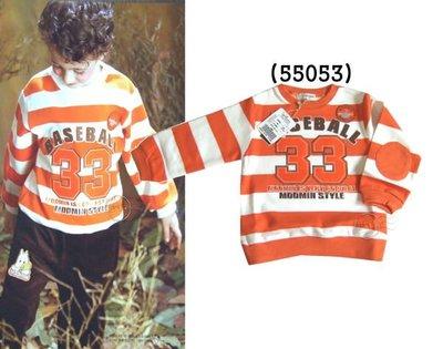 媽咪家【55053】 嚕嚕米 MOOMIN 台灣製 中厚綿 長袖 圓領 上衣 T恤~90.120