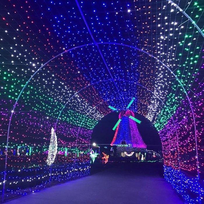 LED彩燈閃燈串燈滿天星裝飾燈