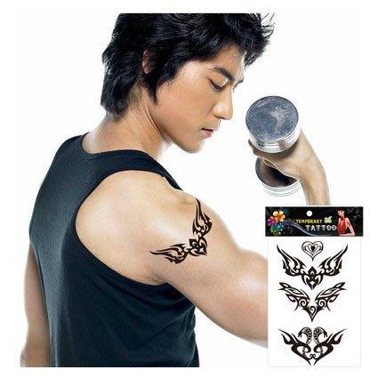 【萌古屋】小圖騰 - 男女防水紋身貼紙原宿刺青貼紙S-136