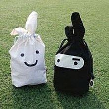 日韓忍者兔收納袋 隨身小物旅行袋-艾發現