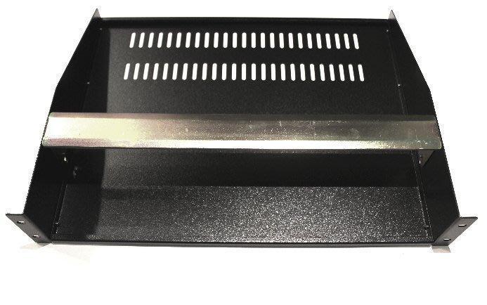 【六絃樂器】全新航空瑞克箱 混音器機櫃 2U 棚板 / 工作站錄音室 專業音響器材
