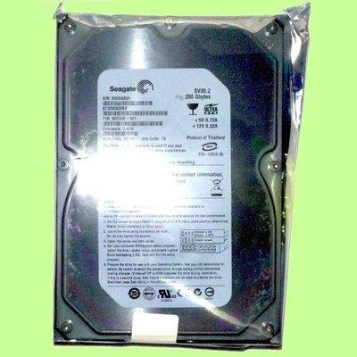 5Cgo【現貨】希捷ST3250820AV 3.5吋 250GB/250G 16M 7200轉IDE/PATA硬碟 含稅