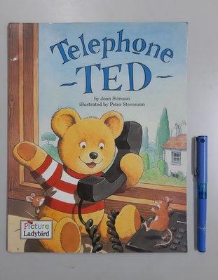 英文童書繪讀本 Telephone ~TED~  《Picture Ladybird》  原價240元  書況佳