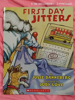 *NO.9 九號書店* First Day Jitters 英文繪本童書 SCHOLASTIC