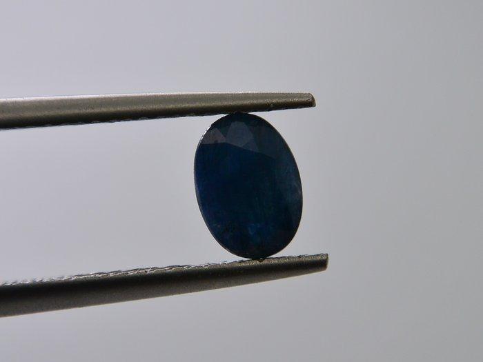 天然藍寶石Sapphire  橢圓形刻面寶石 裸石 戒面 1.025T