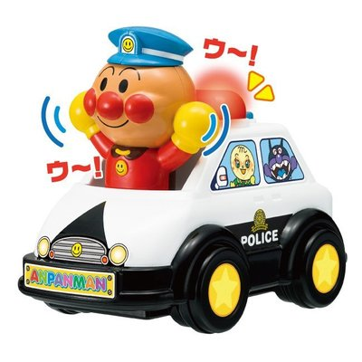♡fens house♡日本進口 麵包超人 Anpanman 警車 音樂 聲響 玩具