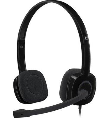 【全新含稅】Logitech 羅技 H151 頭戴式耳機麥克風 全方位立體聲 (非微軟)