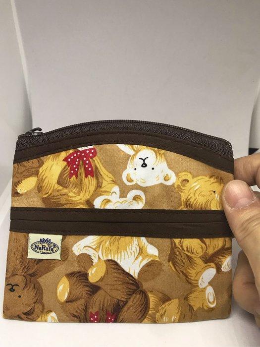 [晶藝坊]泰國曼谷包NaRaYa面紙包+零錢包(小熊)