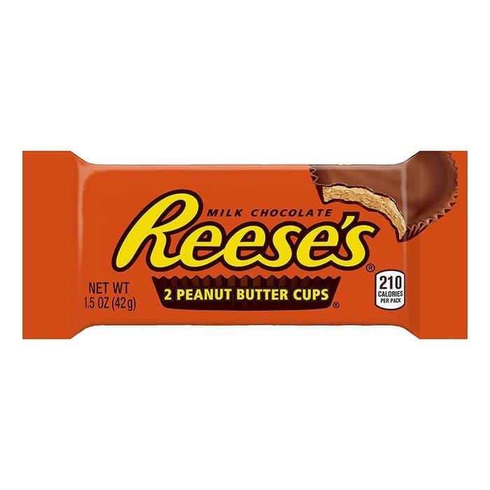 【Sunny Buy 生活館】◎現貨◎ 賀喜 Reese's 花生醬巧克力 (經典杯) 嚐鮮包 42g