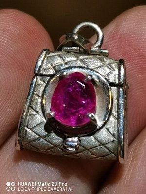 💖玉殿珠寶💖天然無燒緬甸紅寶石1.65克拉
