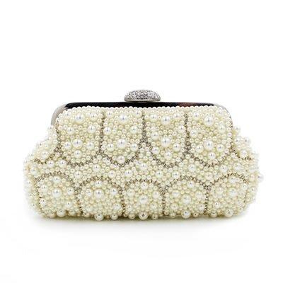 晚宴 包 珍珠手拿包-時尚精美氣質百搭女包包2色73su29[獨家進口][米蘭精品]