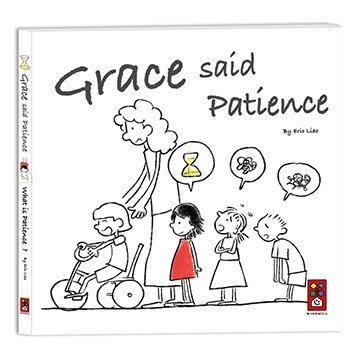 【大衛】風車 繪本:Grace said Patience(英文版)