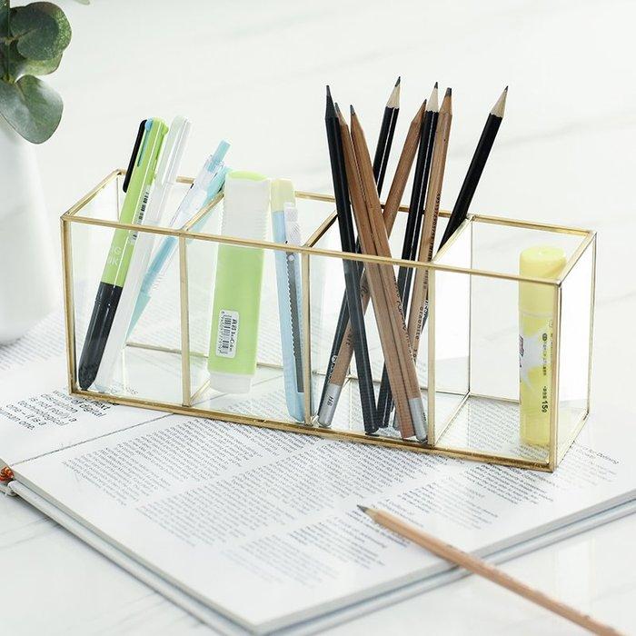 〖洋碼頭〗簡約現代收納盒裝飾品家居客廳辦公室桌面女生臥室辦公室桌面擺設 fjs667