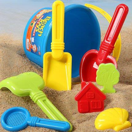 兒童沙灘玩具 桶套裝組合寶寶玩沙挖沙大號鏟子戲水洗澡工具【快速出貨】
