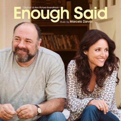 """""""緣來 說夠了 無需多言(Enough Said)"""" - Marcelo Zarvos(06),全新美版"""
