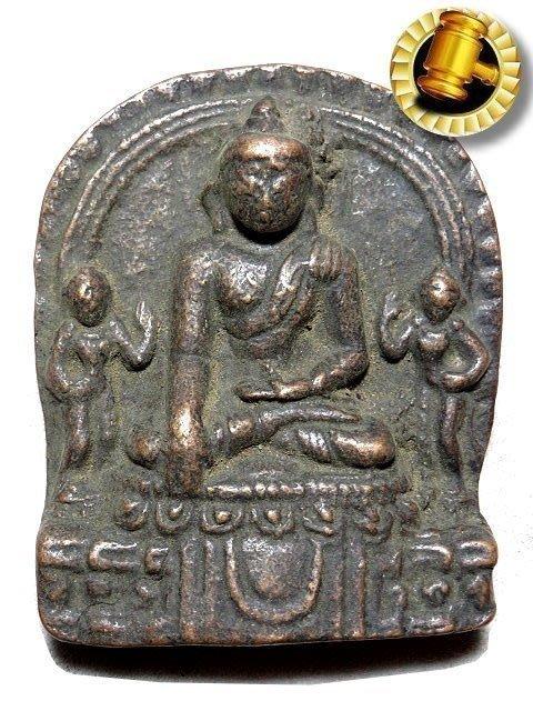 【 金王記拍寶網 】T1469 中國西藏藏密佛像 銅雕佛牌 一個 罕見稀少~
