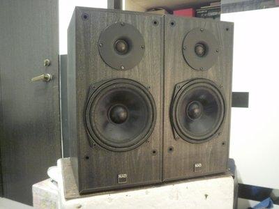 (老高音箱)丹麥製 NAD 8080 兩音路書架喇叭.表現內容超越LS3/ 5A.(B&W.Dynaudio.KEF.請參考) 基隆市