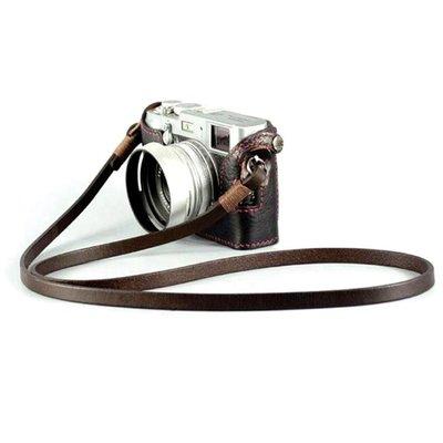 【特惠免運】8mm手工製作相機揹帶頭層...