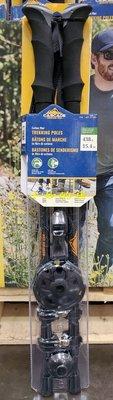 【小如的店】COSTCO好市多代購~CASCADE 碳纖維3段式登山杖(2入組)全新