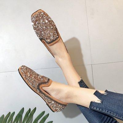 =WHITY=韓國GRAMMI品牌 韓國製  日本訂單超多東京女孩新款平底鞋軟底防滑橡膠底舒適S7LA516