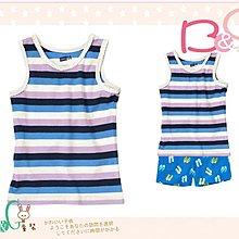 【B& G童裝】正品美國進口Crazy8藍白紫色條紋背心上衣M號6-8yrs