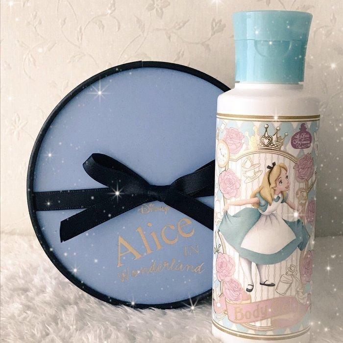 Ariel's Wish-日本東京迪士尼愛麗絲Alice妙妙貓時鐘兔花園下午茶園區內限量款身體乳液潤膚乳液-日本製現貨