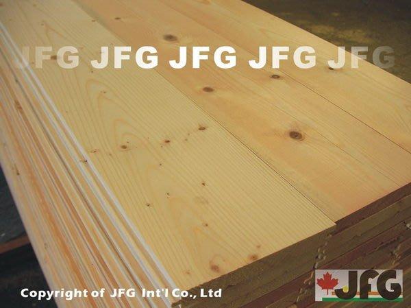 JFG 原木建材 *【SPF松木地板】20x135mm (#J) 木地板 木材加工 裝潢設計 美松柚木 雲杉 實木