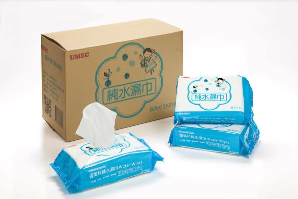 【O&S生活小舖】台農優美科純水超厚80抽濕紙巾1-3箱運費都80元(偏遠地區外島除外)