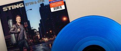 全新美版黑膠- 史汀 / 57街與第9大道 (全球限量藍色彩膠) Sting / 57TH & 9TH