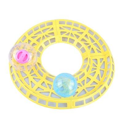 倉鼠玩具 寵物玩具CARNO卡諾倉鼠寵物用品玩具滾球跑道金絲熊跑球軌道可多件拼接