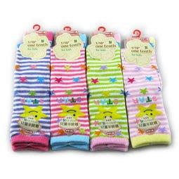 7204 童棉半統襪 3-6歲 童半統襪 $42/雙