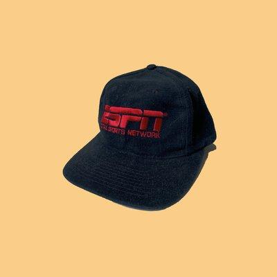 JCI:Vintage 90s 企業物 ESPN 體育台 老帽 NBA / MLB / 古著 / 美國大聯盟