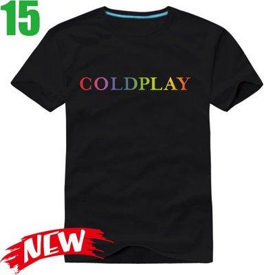 Coldplay【酷玩樂團】【A Head Full Of Dreams】短袖搖滾T恤(共6種顏色)新款上市!【賣場二】