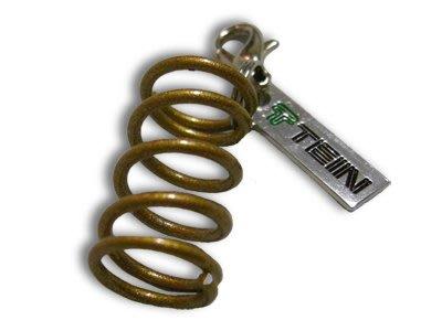 【翔浜車業】日本純㊣TEIN TN016-007 KEY CHAIN 避震器彈簧造型吊飾 鑰匙圈◎絕版限量二個