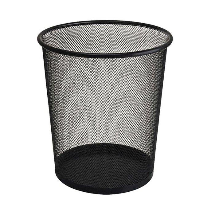 垃圾桶 妙然加厚垃圾桶收納桶防繡鐵絲網家用鐵網廢紙簍垃圾袋筒