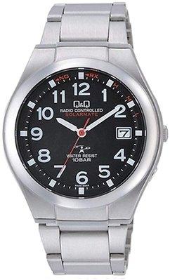 日本正版 CITIZEN 星辰 Q&Q HG12-205 手錶 男錶 電波錶 太陽能充電 日本代購