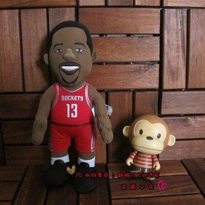 美國NBA公仔官網正品布偶娃娃火箭隊哈沃德Howard 哈登林書豪LIN詹姆士James Curry庫里Rose