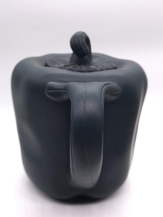 1980年青椒綠泥茶壺
