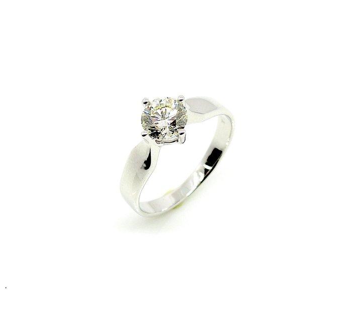【JHT 金宏總珠寶/GIA鑽石專賣】0.75ctGIA天然鑽石女戒/M-VVS2/材質:14K(7112)