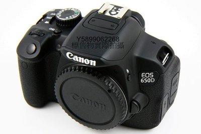 原廠CANON 650D 單機身 原電池(無記憶卡 相機包 18-55mm Kit 鏡頭)