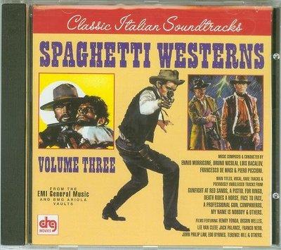 """[原聲帶-Col]- """"Spaghetti Westerns-Vol.3""""-  Various,美版(157)"""