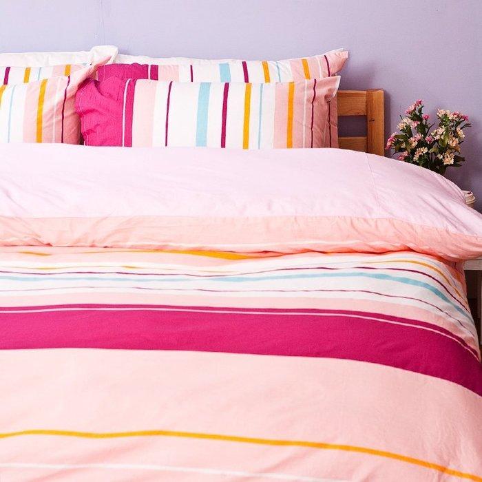 兩用被 / 雙人【繽紛特調粉】雙人鋪棉兩用被,100%純棉,戀家小舖,台灣製R12-AAC205
