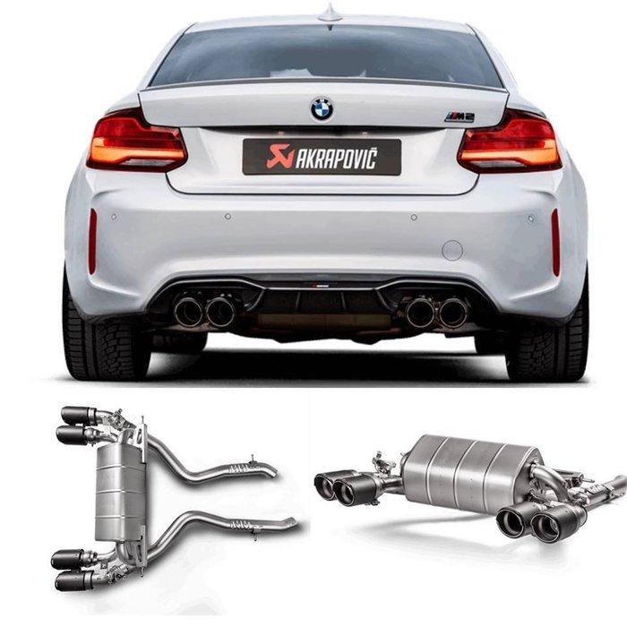 【樂駒】Akrapovic BMW F87 M2 Competition 蠍子 鈦合金 中尾段 排氣管 改裝 套件