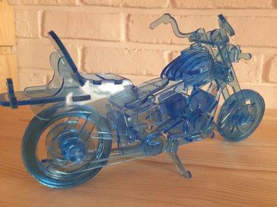 3D立體拼圖--哈雷重機DIY套件