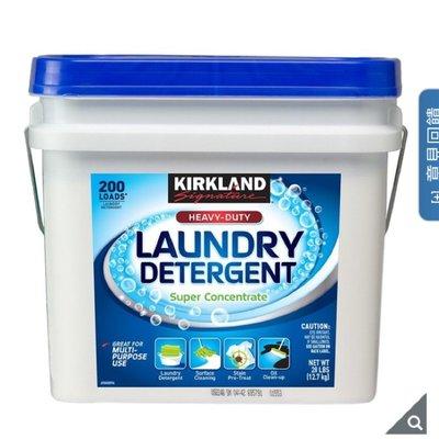Kirkland Signature 科克蘭 專業級濃縮 洗衣粉 12.7公斤 costco 好市多