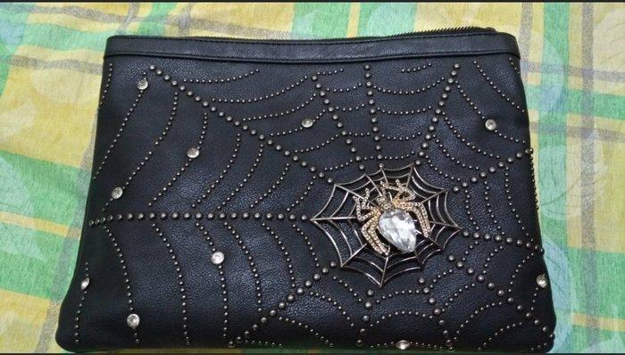 蜘蛛側背包,手拿包,肩背包
