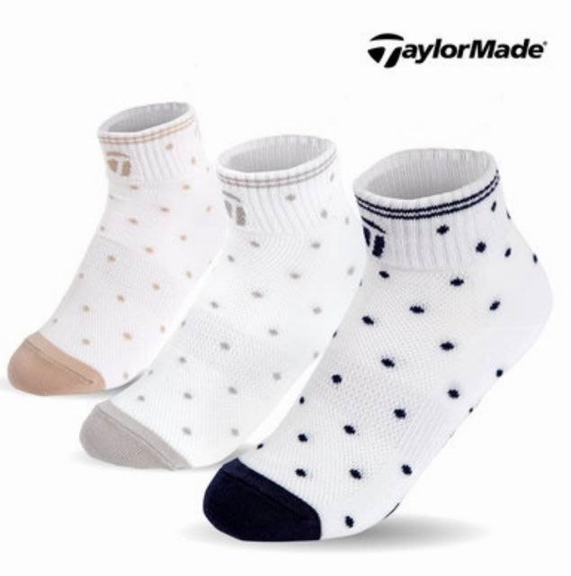 Taylormade 女用運動棉/短襪  3雙一組 #6290 & #6291