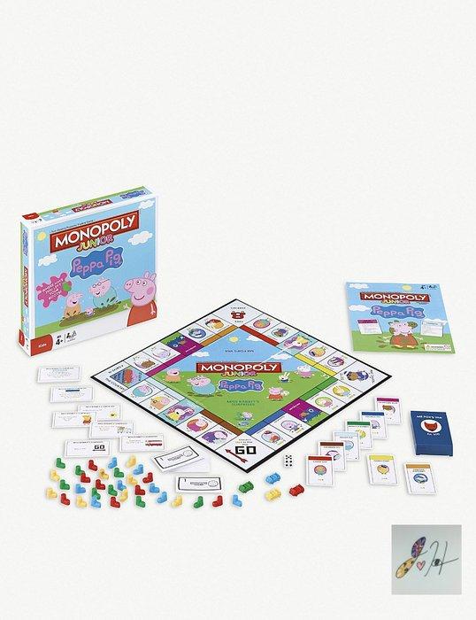 當日寄出[現貨] 英國代購 Peppa pig 英國佩佩豬 大富翁佩佩豬遊戲組 桌遊