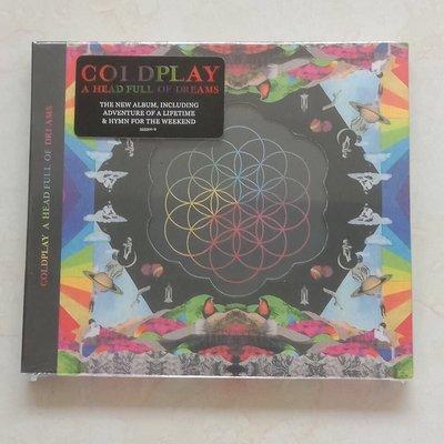 【紅豆百貨】全新現貨豪華版酷玩樂隊Coldplay A Head Full Of Dreams CD